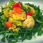 Contorno invernale con broccoli e rucola