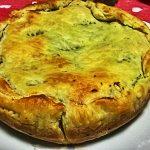 Torta salata di broccoli, patate e formaggio