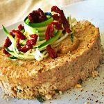 Mini Cheesecake con zucchini e pomodori secchi