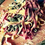 Tagliatelle tricolore