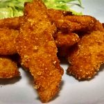 Chicken Strips (Filetti di pollo speziati e fritti)