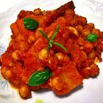 Finto spezzatino di ceci e patate (Vegan)