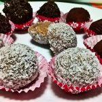 Tartufi panna e cioccolato (senza cottura)