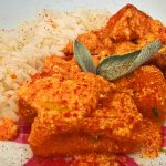 Melanzane e basmati in salsa bengalese