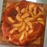Torta di mele con yogurt e limone
