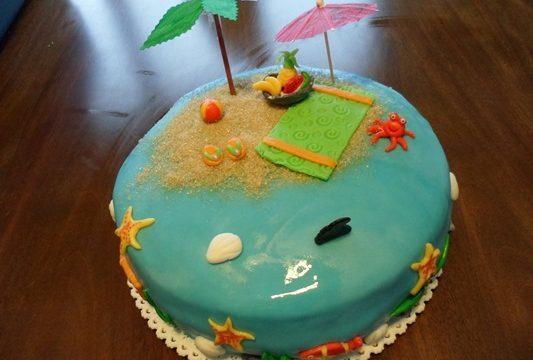 Torta tropicale