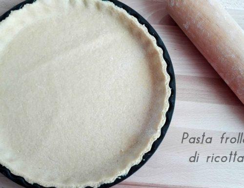 Pasta frolla di ricotta-ricetta light