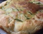 Torta salata salmone affumicato e zucchine