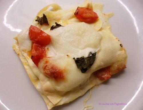 Lasagnetta tricolore