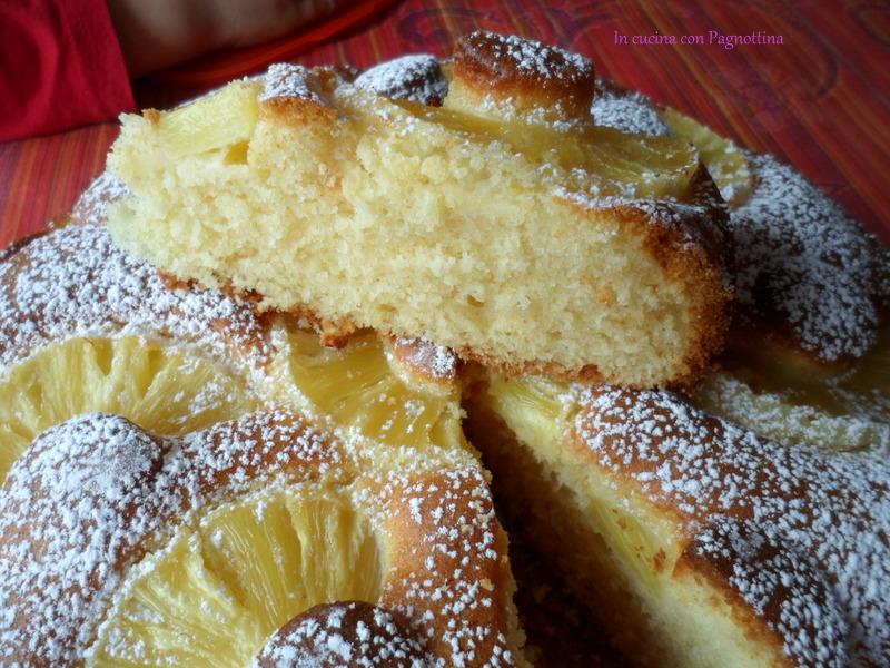 Torta Morbida Allananas