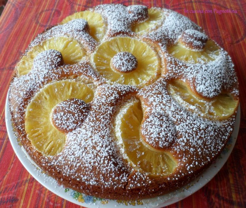 Ricetta torta di ananas bimby