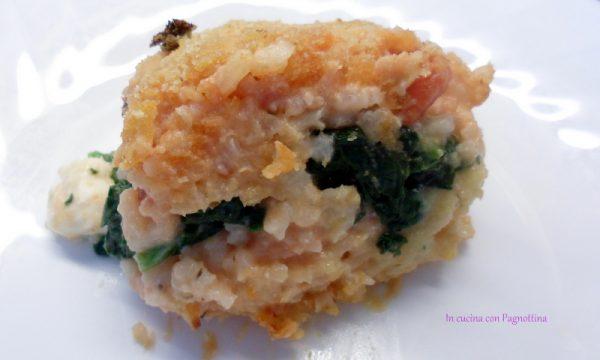 Tortino di riso (ricetta riciclo)