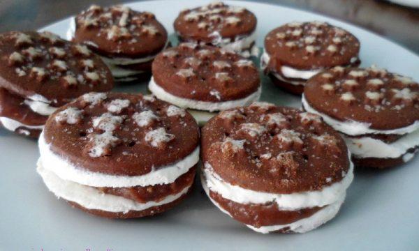 Gelato biscotto pan di stelle e nutella