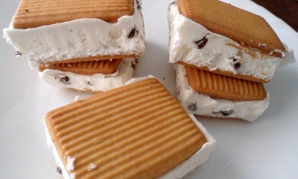 Gelato biscotto senza gelatiera