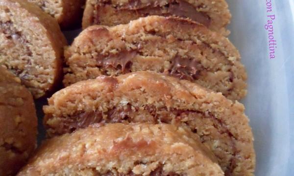Rotolo di biscotti (ricetta riciclo)