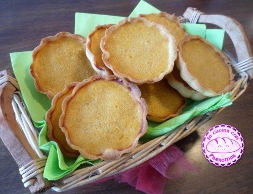 Pumpkin pie mini-tarts Re-cake