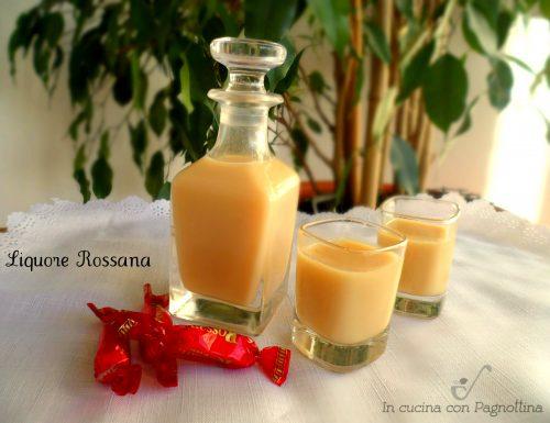Liquore Rossana con bimby e senza