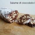 Salame di cioccolato light