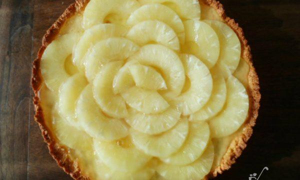 Crostata cocco e ananas