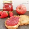 Marmellata fragole, mele e menta