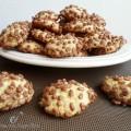 Biscotti con riso soffiato al cioccolato