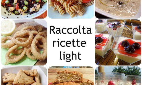 Raccolta ricette light