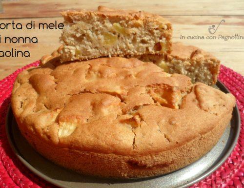 Torta di mele di nonna Paolina