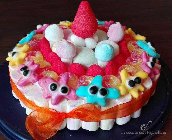 caramelle torta