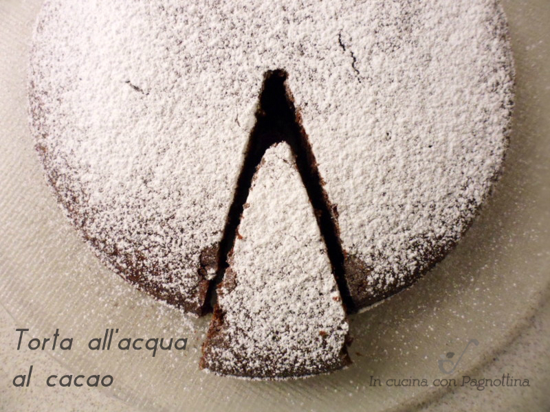 torta all'acqua al cacao1