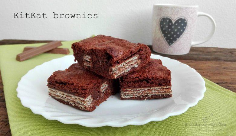 KitKat brownies golosissimi