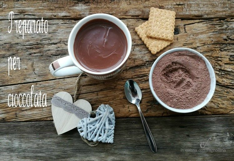 Preparato per cioccolata