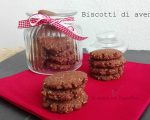 Biscotti di avena