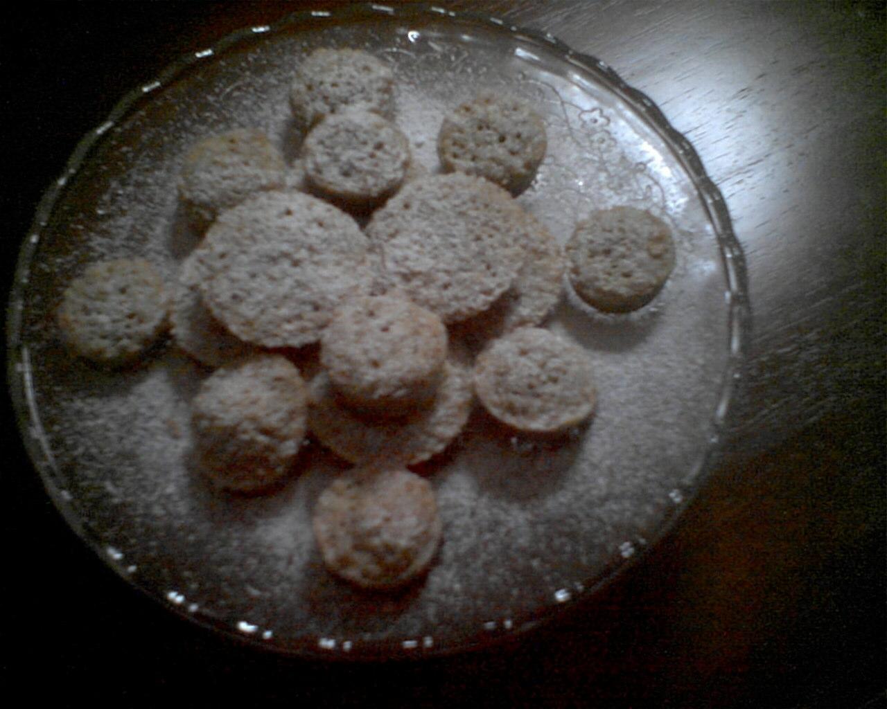 mini muffin cioccolato e noci