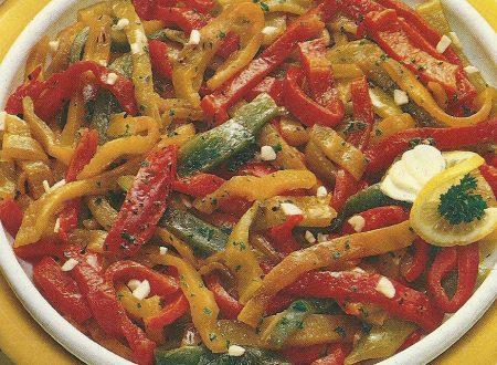 peperoni alla griglia