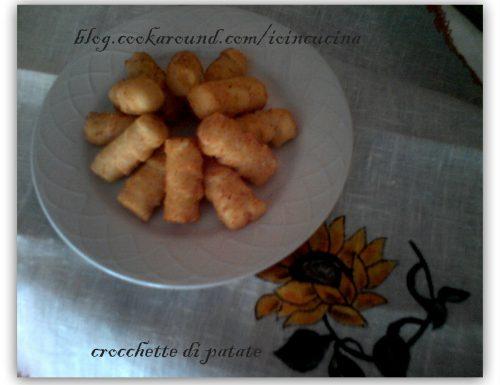 crocchette di patate