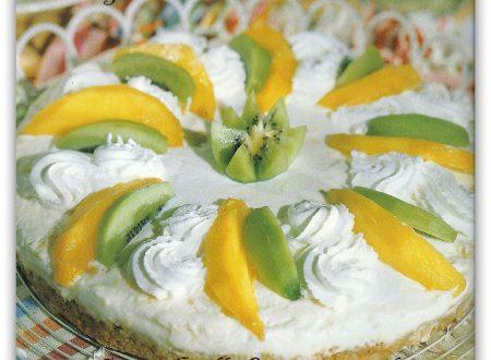 cheesecake alla frutta tropicale