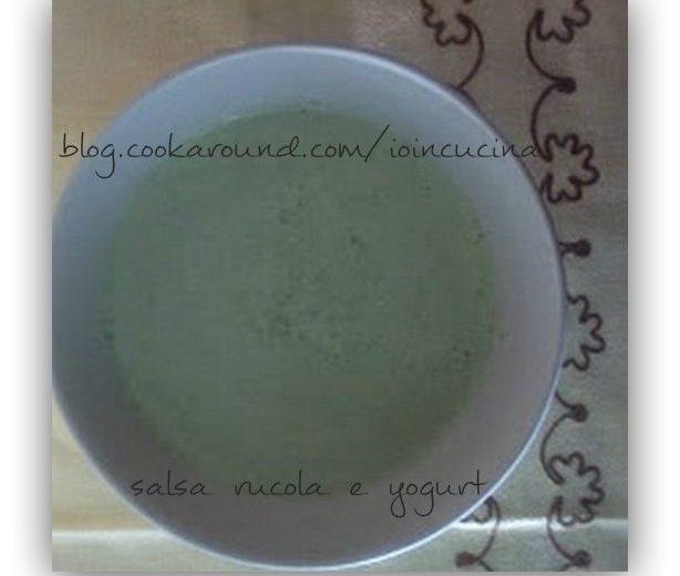 salsa rucola e yogurt