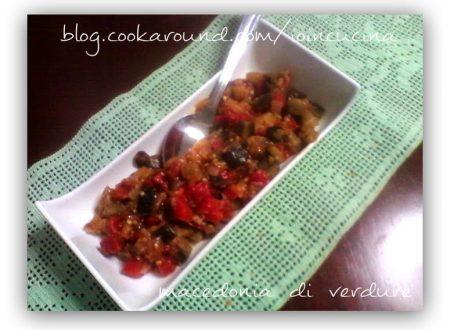 macedonia di verdure (con foto)