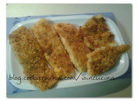 filetti di persico gratinati