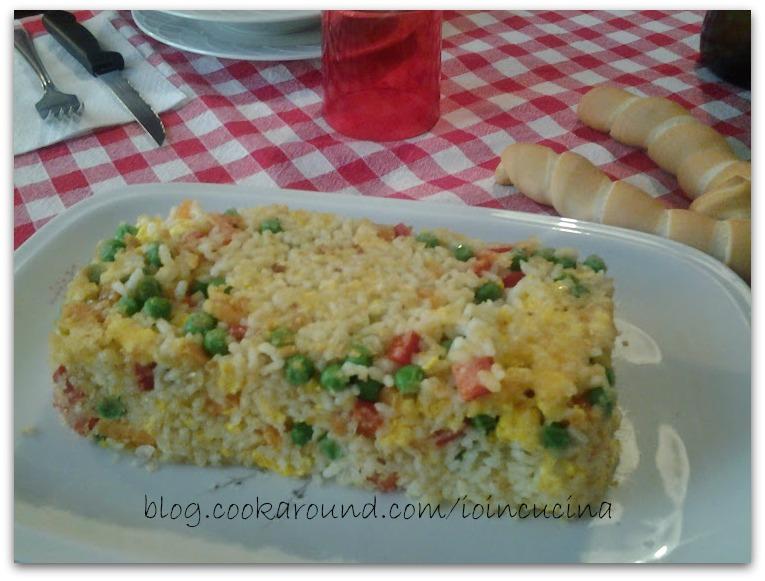 tmballo di riso e verdure
