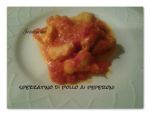 spezzatino di pollo ai peperoni