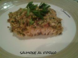 salmone  fresco al forno