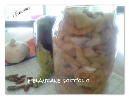 Melanzane sott'olio – la mia ricetta