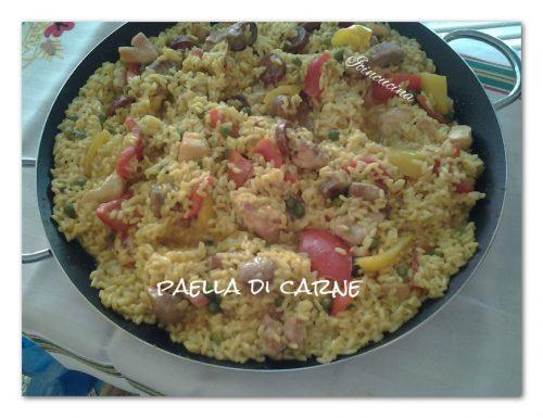 Paella di carne alla valenciana