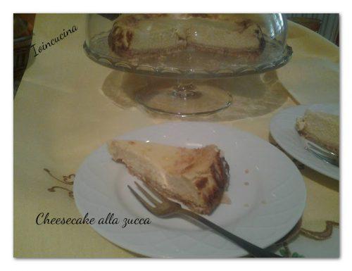 Cheesecake alla zucca – ricetta facile