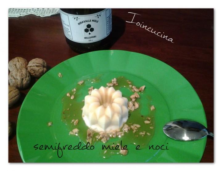 semifreddo al miele e noci