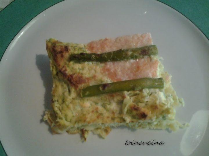 Lasagne al salmone e asparagi