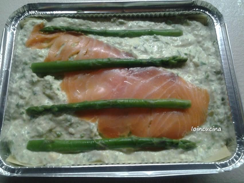 lasagne al salmone e asparagi (con foto)