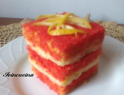 Mini torta con crema al limone