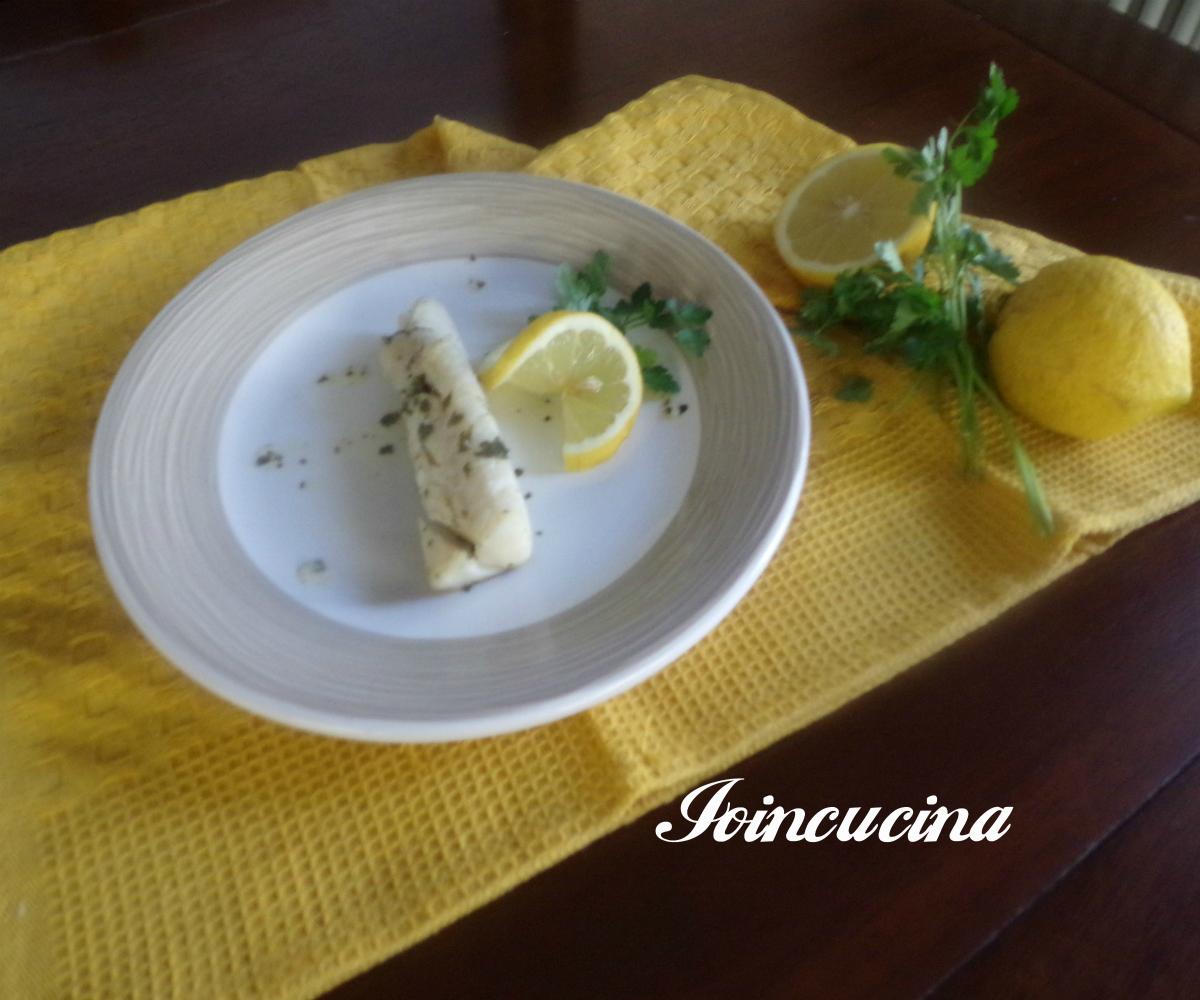 filetti di merluzzo limone e prezzemolo
